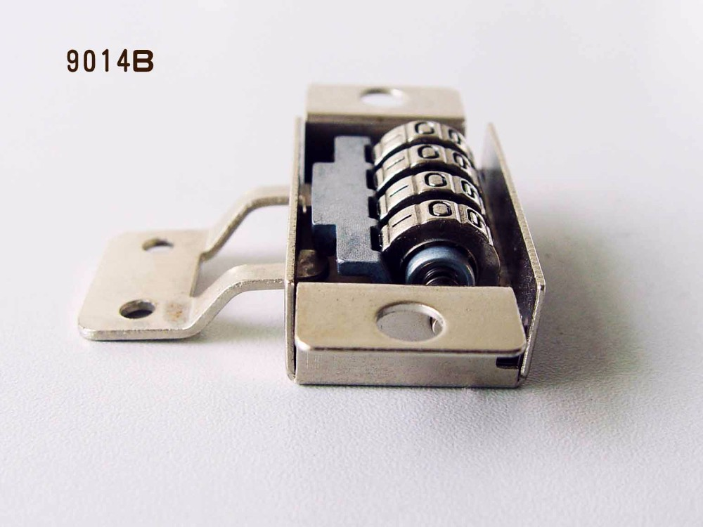 Factory Sale 4 digit Safe deposit box combination lock for beach box
