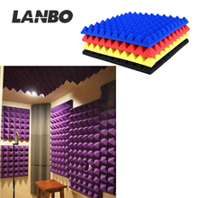 China Wholesale Sound Absorbing Acoustic Foam Panels with wedge/egg/pyramid shape