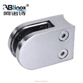 ABLinox Best Quality Balcony Railing Balustrade Mounted Glass Clamp Fence Design Stainless Steel Glass Handrail Clamp