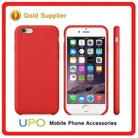 [UPO] Wholesale Genuine Original PU Leather Soft Back Cover Case for Apple iPhone 5/6/6s Plus