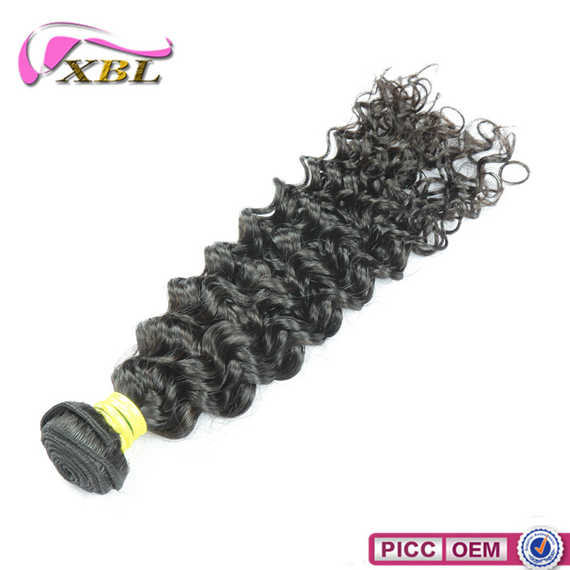 Factory Wholesale Hair Extension, 100 Virgin Malaysian Curly Weave
