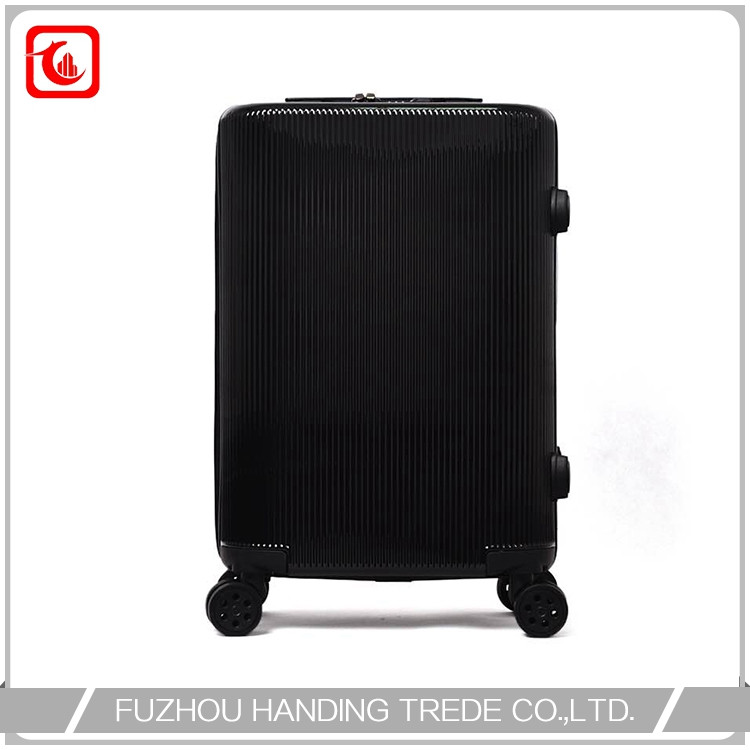 Abs frame hard pc trolley case , cheap pc trolley suitcase set