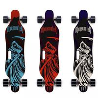 Factory wholesale price 4 wheel electric belt skateboard with dual motor