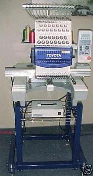 New Toyota ESP9100 embroidery machine REDUCED