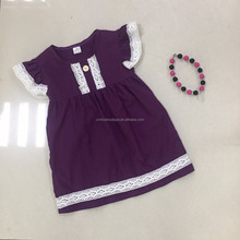 top selling kids clothes purple girls dress kids party dress