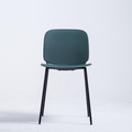 PP DINING CHAIR STEEL LEGS FRAME MODERN SIMPLE STYLE
