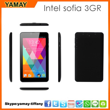 7 Inch Intel SoFIA 3GR Quad Core IPS Screen 1024*600 1gb /8gb 3G GPS Bluetooth Android 5.1 Two Camera Tablet Pc