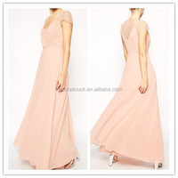 Fashionable long ladies dinner party dress /For petite girls dress(PY0274)