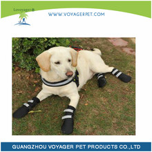 Lovoyager pet accessories soft neoprene reflective winter dog shoes waterproof dog boots