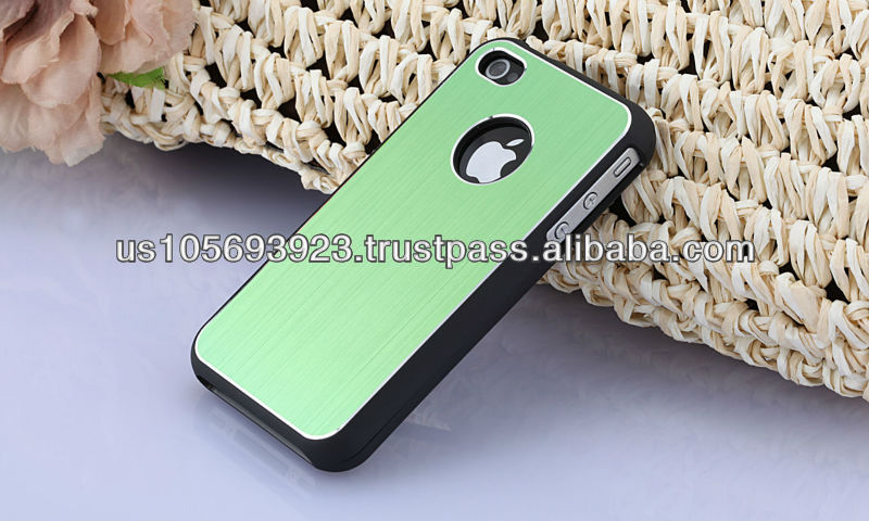 Aluminum Phone Case For Iphone4S 4G ,Metal Hard Case Cover For Iphone