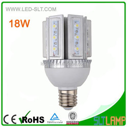18W 360 degree LED street light Bulb E27 CE/RoHS
