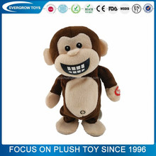 popular creative animal monkey voice recorder for plush toy