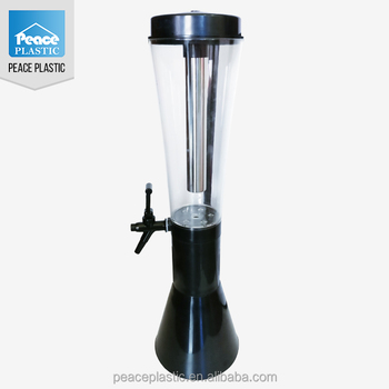 Hot Sale Customized Widely Used tabletop beer dispenser New Products Beer Tower for sales plastic beer tower