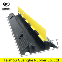 1 Channel Rubber Floor Cable Protector