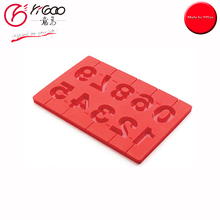 101220 direct manufacturer number chocolate mold with cheap price