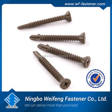 self drilling plastic drywall anchor PE PA PVC small box packing ningbo factory nylon self drill speed anchor
