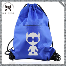Foldable nylon cheap drawstring bag