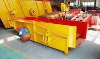 China top manufactory vibrating chute feeder in stone production line