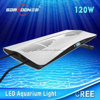 lcd screen 20 inch 120w full spectrum led aquarium light for marine aquarium use