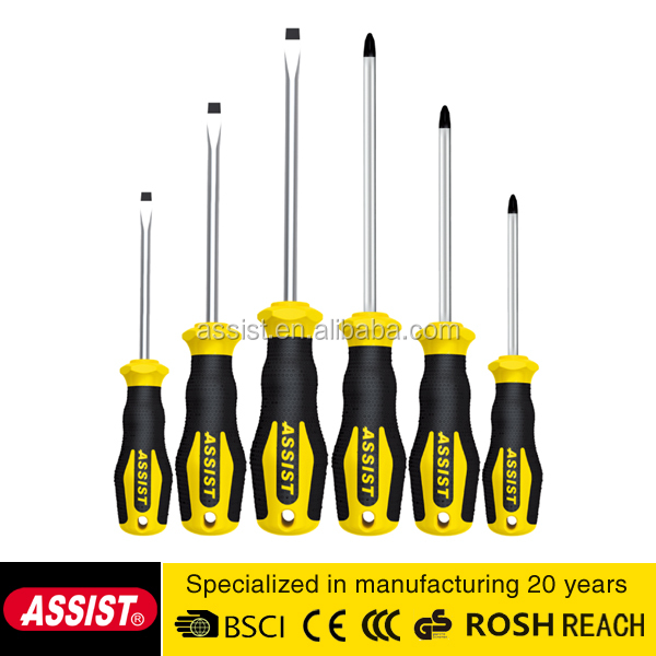 Promotational best popular 6 pieces precision electrical screwdriver set