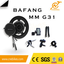 Quality Assurance bafang 8fun motor 500w 36v 48v bbs02 mid drive motor kit for any bike
