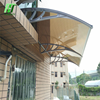 Honesty portable awning with polycarbonate waterproofing sheet cover