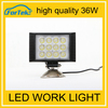 Competitive Price as high quality rechargeable led work lights for car 36w