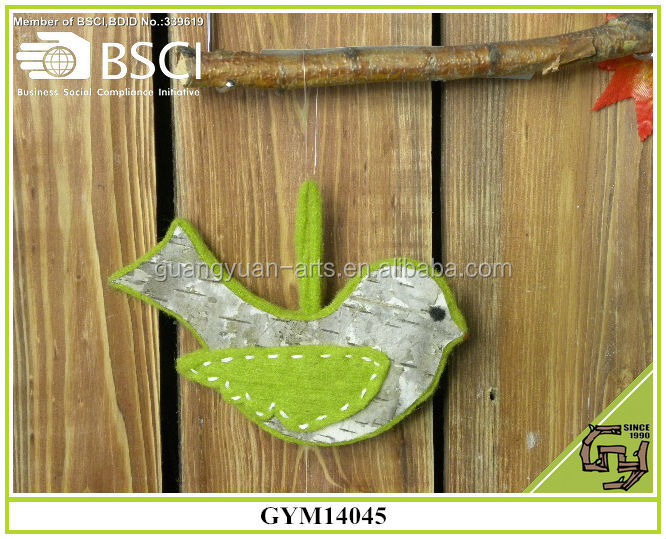 2015 home decoration handmade bird