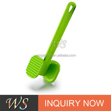 WS-MP062 Quality Kitchen Aluminum Meat Tenderizer Sharp Stainless Steel Blades For Steak, Chicken, Fish and Pork
