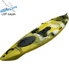 kayak professional fishing plastic kayak with 4 flush mounted rod holder Fishing Kayak Camouflage polyethylene boat
