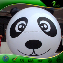 New Custom Inflatable Helium Balloon / Animal Shaped Panda Balloon, Walking Animal Balloon