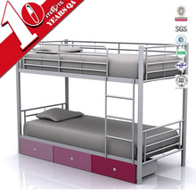 Cheap used bunk beds for sale school dormitory bunk double cabinet bed