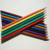 Cheap crayons colour pencil made of plastic