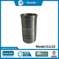 cylinder liner / sleeve for huayuan laidong diesel engine s1115 spare parts for light truck /forklift/tractor/farming machine
