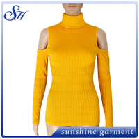 latest sexy women's top hot selling long sleeve wear for north America 2017