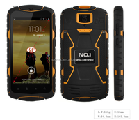 NO.1 Brand 5'' IP68 Cellphone android quad core NO.1 X1 X-Men phone
