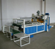 High speed advanced new size Paper Box Semi automatic folder gluer for corrugated paperboard making machine