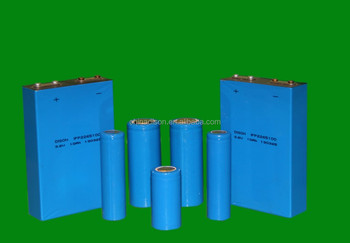High capacity lithium battery 26650 18650 22430 size 3.2v lifepo4 battery