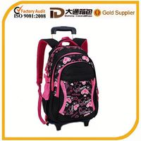 kids school trolley bag for girls