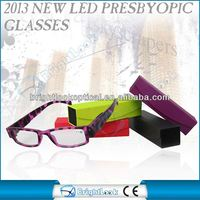 2013 New Style inexpensive glossy metal eyeglass cases