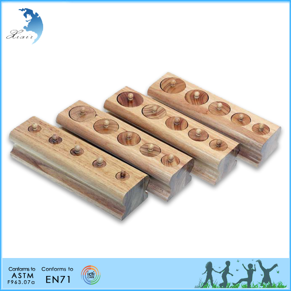 Advertising Chinese factory child top toy educational wooden toy