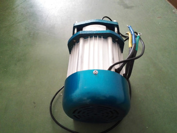 electric mid drive chain brushless motor 1500w for electric rickshaw /tricycle