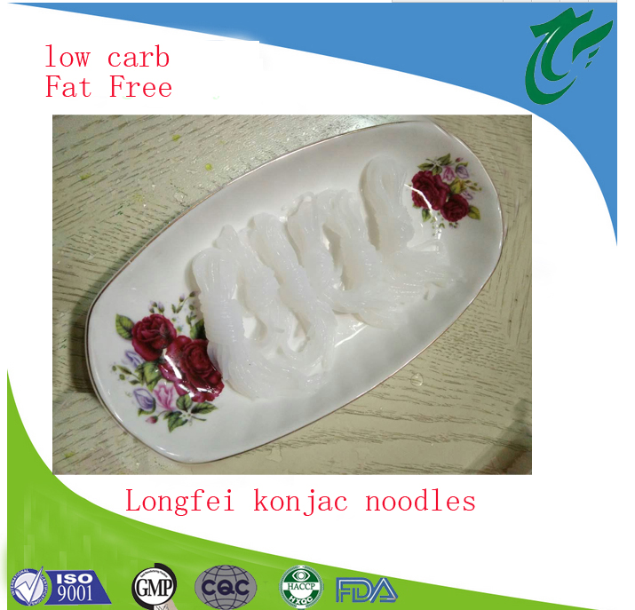 Low calories instant konjac udon noodles with factory price