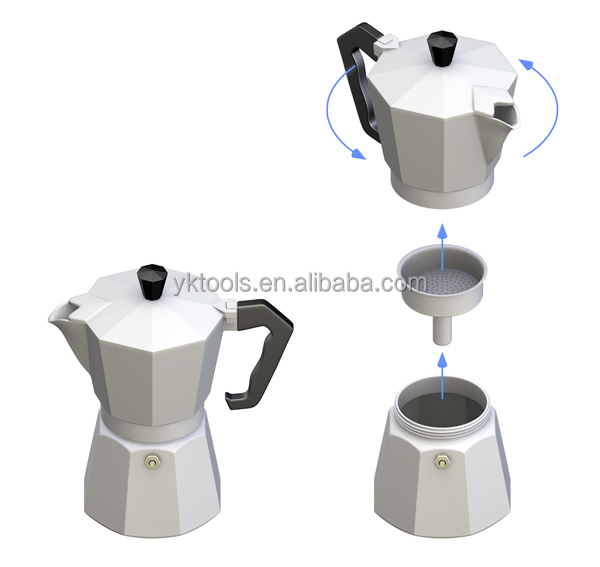 yongkang coffee maker coffee pot moka pot