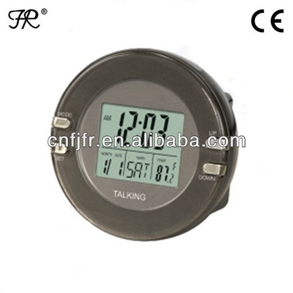 digital LCD Talking Russian Clock
