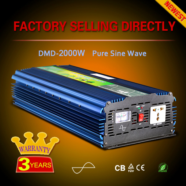 Pure sine wave off grid single phase 12/24vdc to 220vac power inverter for led light