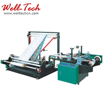 Plastic Film Folding Rewinding Machine