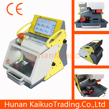 China best automatic key cutting machine SEC-E9 English version portable convenient key making machine for Locksmith