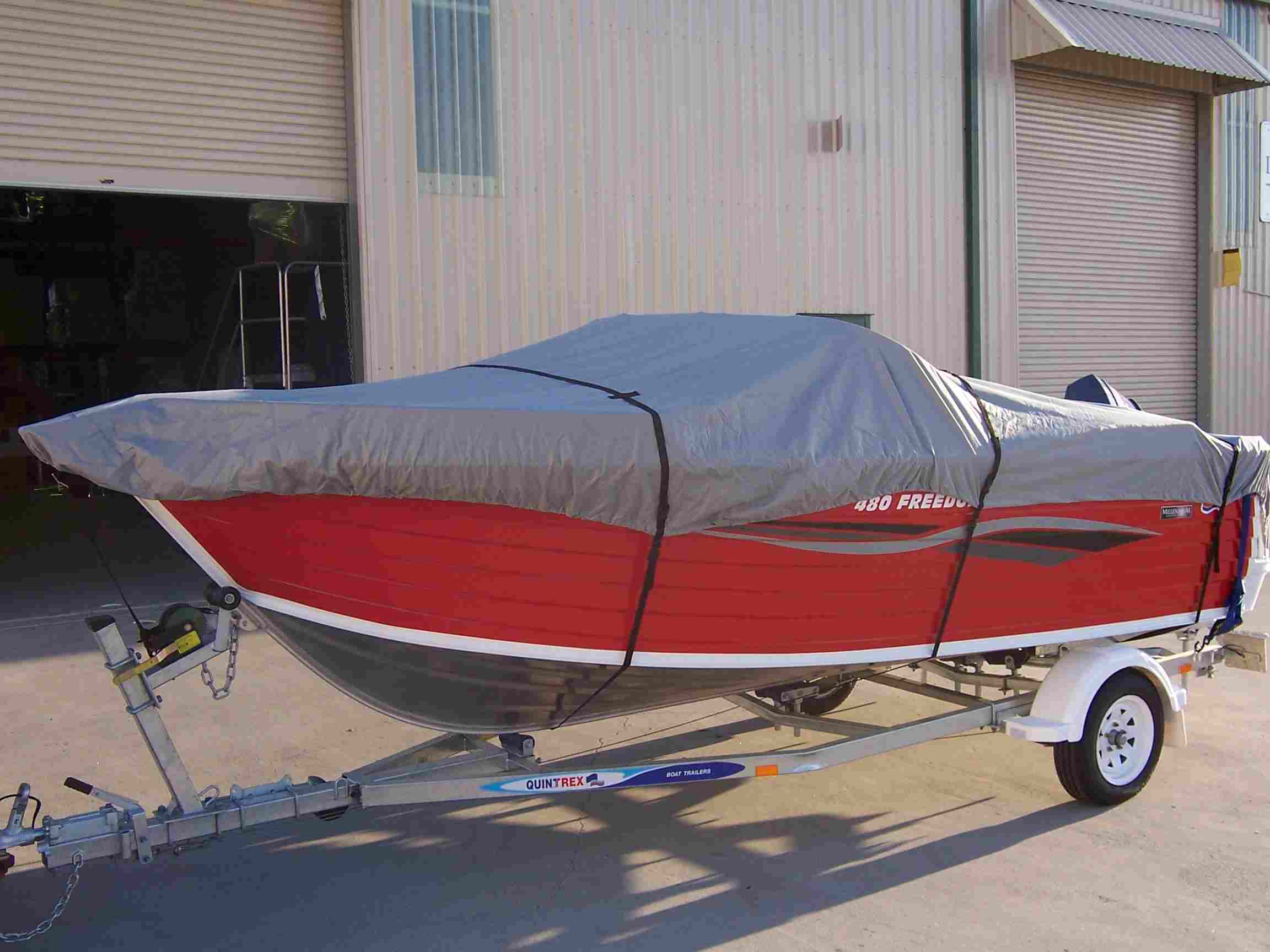 Towable Boat Cover