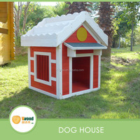 Red and White Dog House Pet house New Design